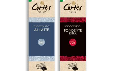 Cioccolato Cortés presenta le Tavolette Slim