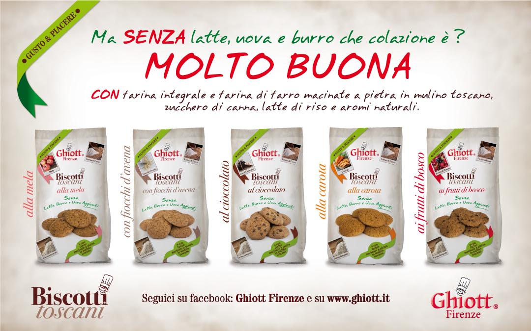 Biscotti Toscani Gusto & PiacereFrollini per la prima colazione