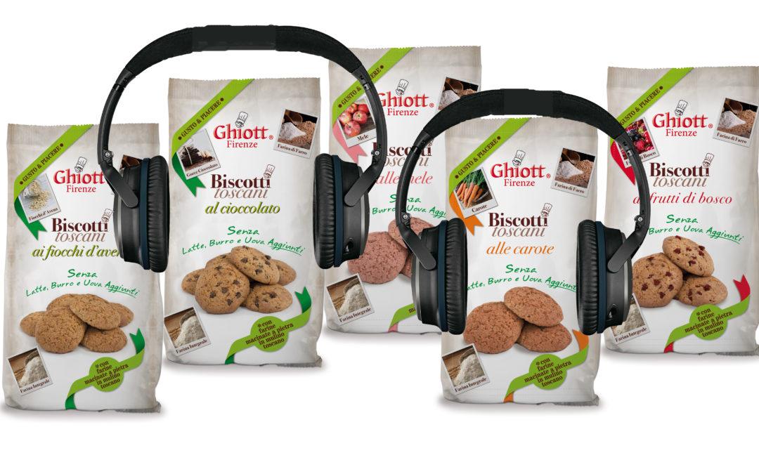 Nuovo spot per Biscotti Toscani Gusto & Piacere su Radio Rai
