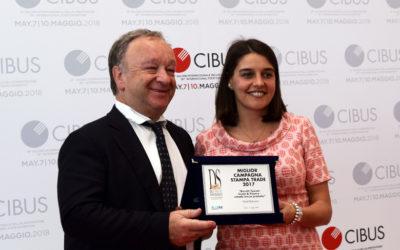 Dolci & Consumi Awards: Ghiott premiata a Cibus 2018