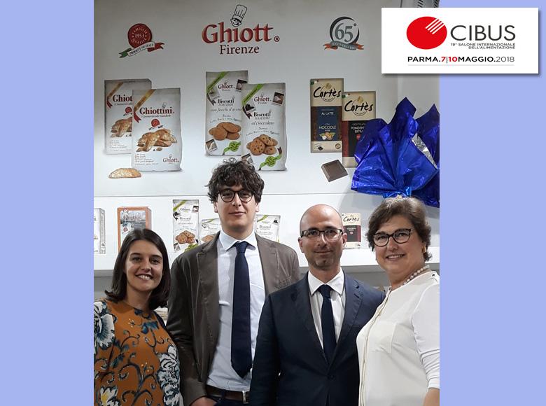 Presentato il 65° anniversario Ghiott a CIBUS