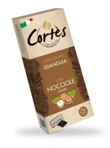 Cortés Gianduja Chocolate with Hazelnuts