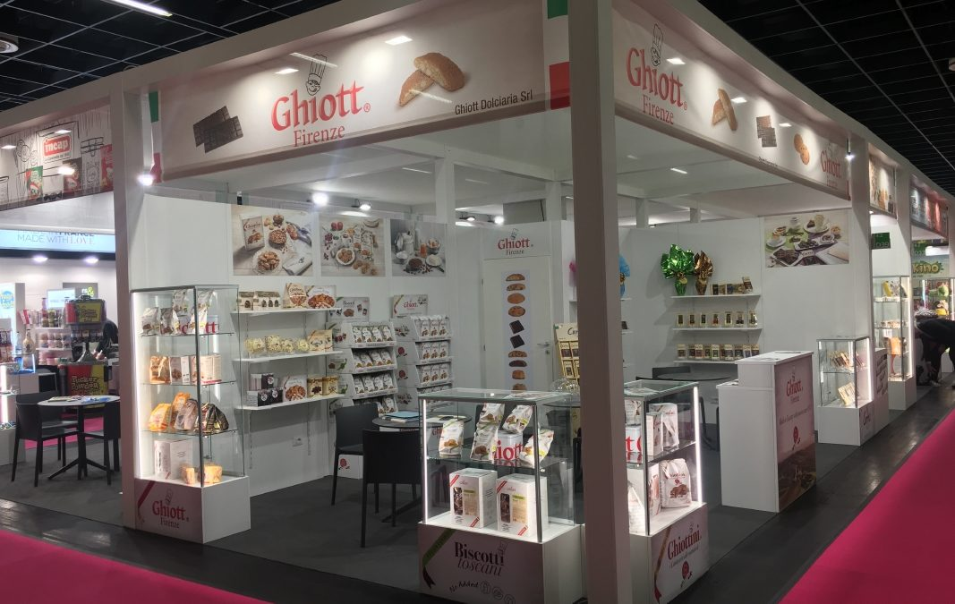 Ghiott at Cologne ISM Fair 27th-30th January