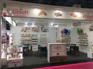 Trade fair for Sweets & Snacks 2019 at Cologne - Cortés Gianduja Chocolate with Hazelnuts