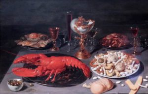 Still life with Lobster - Beert Osias