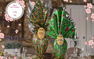 Le uova di Pasqua al Cioccolato Cortés sono pronte!
