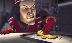 Shrek - Biscotti nel cinema