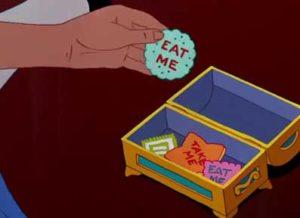 Alice nel paese delle meraviglie - Biscotti nel cinema