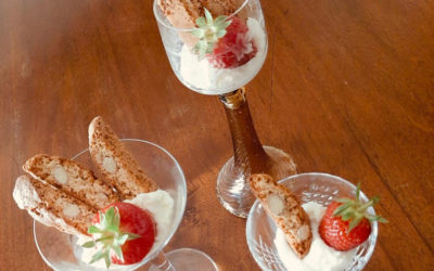 Chantilly Cream and Strawberries: Ghiottini Summer Recipe Edition