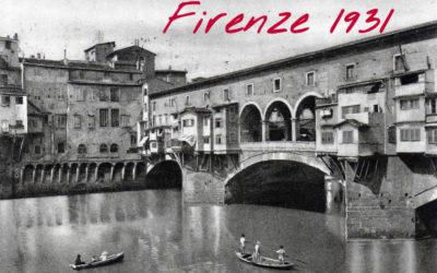 Accadde a Firenze nel 1931