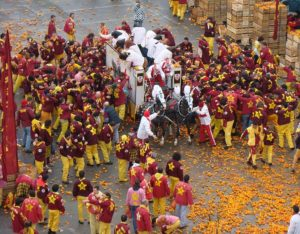 Carnevale - Battaglia delle arance a Ivrea