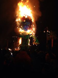 Carnevale - Rogo di Peppe Nappa a Sciacca