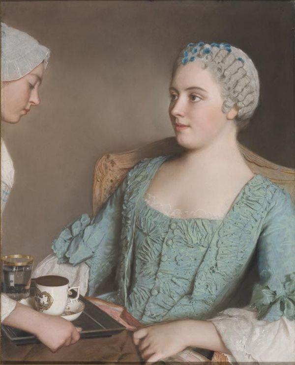 Jean-Étienne Liotard, La colazione, 1752